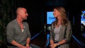 Voll verknallt: Andre Agassi schwärmt von seiner Steffi Graf