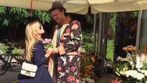 Ein Blumenmeer: Dufte Freundschaftserklärung an Sylvie Meis