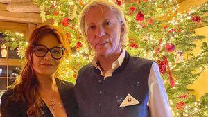 Seltener Anblick: Andrea Berg zeigt sich mit ihrem Ehemann