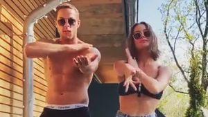 """Der Ex-Bachelor Andrej und Jenny tanzen sexy zu """"Macarena"""""""