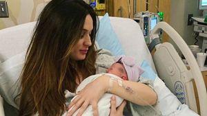 Erstes Pic: Nick Carters Schwester Angel ist Mama geworden
