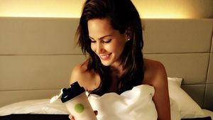 Angelina Hegers Werbung für Body-Shape-Drinks