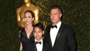 Geheimes Zeichen? Marion Cotillard gibt Brad Pitt High-Five!