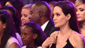 Angelina Jolie mit Tochter Zahara bei den Kid's Choice Awards 215