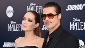 Angelina Jolie und Brad Pitt bei einer Premiere