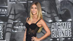 """Ann-Kathrin Brömmel bei der """"Atomic Blonde""""-Premiere"""