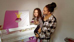 Anna-Lena Schubert mit ihrer Tochter Lilija