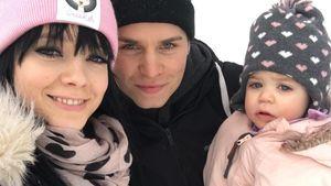 Anne Wünsche, Henning Merten und ihre Tochter Juna
