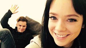 Anne Wünsche mit ihrem Verlobten Henning Merten