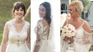 """Wer trug schönstes """"Hochzeit auf ersten Blick""""-Brautkleid?"""
