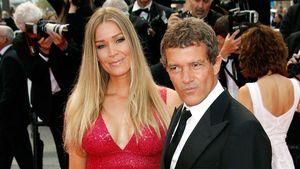 In Cannes: Antonio Banderas turtelt auf dem roten Teppich