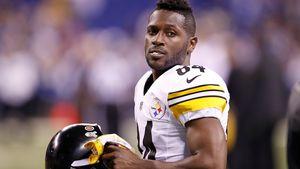 Foto-Beweis: Hat NFL-Star Antonio Brown Frau attackiert?