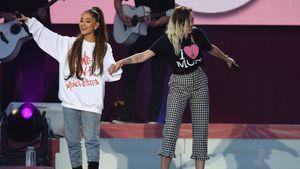 Ariana Grande und Miley Cyrus