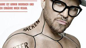 Armin Morbach für PETA-Kampagne aufgepumpt