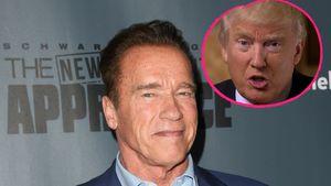 Arnold Schwarzenegger und Donald Trump