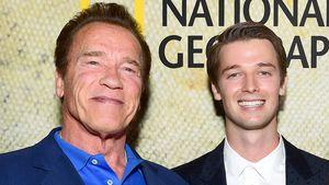 So nah stehen sich Arnold Schwarzenegger und Sohn Patrick!