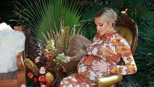 Vor der Geburt: Ashlee Simpson zeigt ihren großen Babybauch