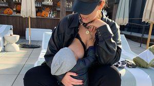 """""""Mein großer Junge"""": Ashley Graham schwärmt von Baby Isaac"""