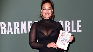 Ashley Graham bei der Vorstellung ihres Buches in New York