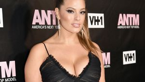 "Ashley Graham bei der ""America's Next Top Model""-Premieren-Party in New York"