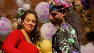 Hochschwangere Ashley Graham twerkt auf ihrer Babyparty!