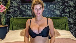 Schwangere Ashley James hat Probleme mit wachsenden Brüsten