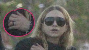 Verdächtiger Ring: Ist Ashley Olsen etwa mit Louis verlobt?