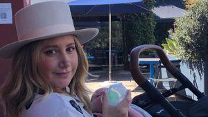 Ashley Tisdale zeigt zum ersten Mal das Gesicht ihres Babys