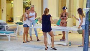 Die Bachelor-Kandidatinnen Viola, Erika, Alexa, Kattia und Cara