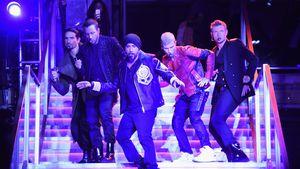 Die Backstreet Boys in NYC