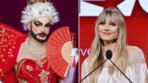 """Bei """"Queen of Drags"""": Bambi und Heidi Klum im Eltern-Plausch"""