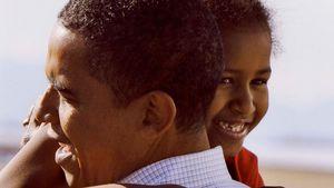 Mit Kindheitsfoto: So süß gratulierte Barack Obama Tochter