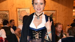 Barbara Meier beim Oktoberfest 2016