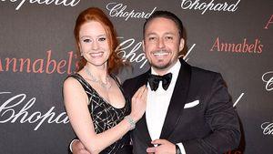 """Barbara Meier und Klemens Hallmann bei der """"Chopard Gent's Party"""" in Cannes 2016"""