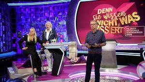 Großer Schreck-Moment: Günther Jauch in TV-Show gestürzt