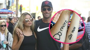 Bastian Yotta und Freundin mit Paar-Tattoo