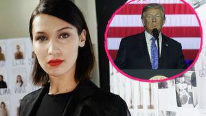 Sie hat eine Meinung: Bella Hadid kritisiert Donald Trump!