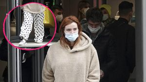 Cool oder kurios? Bella Thorne shoppt im Schlafanzug-Look