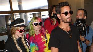 Bella Thorne, ihre Schwester und Scott Disick am Flughafen von L.A.