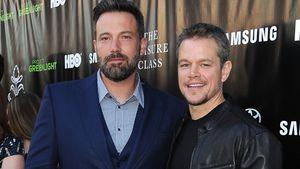 """Ben Affleck und Matt Damon bei der Premiere von """"The Leisure Class"""""""