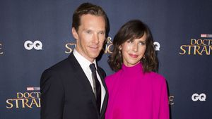 "Benedict Cumberbatch und Sophie Hunter beim ""Doctor Strange""-Screening in London"