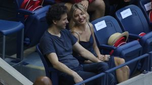 Bennett Miller und Sienna Miller beim Finale der US-Open