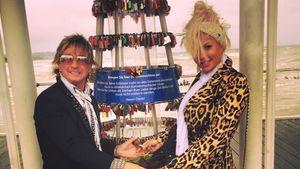 Bert und Sophia Wollersheim im Trennungsurlaub auf Usedom