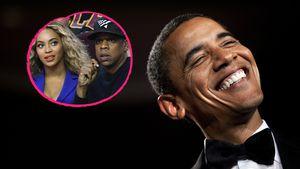 Ups! Verrät Obama hier das Geschlecht der Beyoncé-Twins?