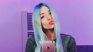 Bibi Heinicke macht Selfie