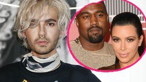 Bill Kaulitz, Kanye West und Kim Kardashian