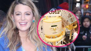 Während Presse-Tour: Blake Lively hat eine Milchpumpe dabei