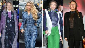 Fashion-Ikone Blake Lively trug vier Outfits an einem Tag!