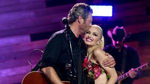 """Blake Shelton und Gwen Stefani bei einem Auftritt im """"iHeartRadio Theater"""" in Burbank 2016"""