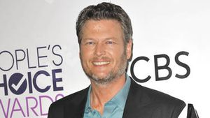 Blake Shelton bei den People's Choice Awards 2017 in Los Angeles